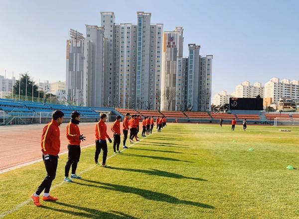 Tin vui từ Hàn Quốc: Quang Hải đã hồi phục chấn thương, tập luyện bình thường cùng U23 Việt Nam-2