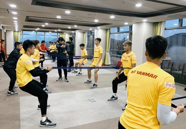 Tin vui từ Hàn Quốc: Quang Hải đã hồi phục chấn thương, tập luyện bình thường cùng U23 Việt Nam-6