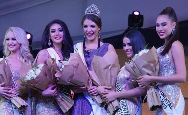 Người đẹp Hungary đăng quang Hoa hậu Liên lục địa 2019, đại diện Việt Nam ra về tay trắng-1