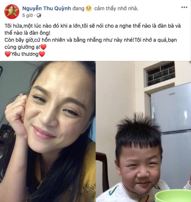 """Thu Quỳnh Về nhà đi con"""": Bà mẹ đơn thân hot nhất showbiz Việt khiến nhiều người khâm phục vì cách dạy con đầy bản lĩnh-2"""
