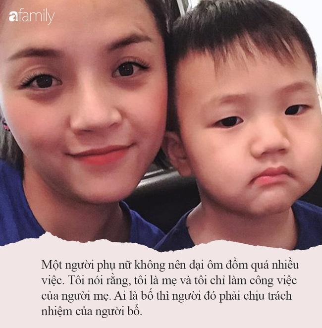 """Thu Quỳnh Về nhà đi con"""": Bà mẹ đơn thân hot nhất showbiz Việt khiến nhiều người khâm phục vì cách dạy con đầy bản lĩnh-3"""