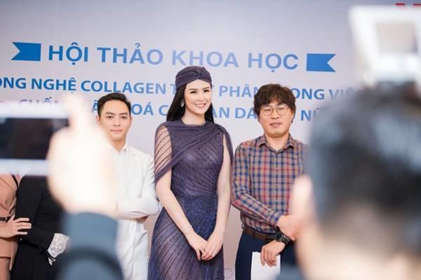 Hoa hậu Ngọc Hân mặc váy xuyên thấu gợi cảm sau khi rò rỉ ảnh dạm ngõ-11