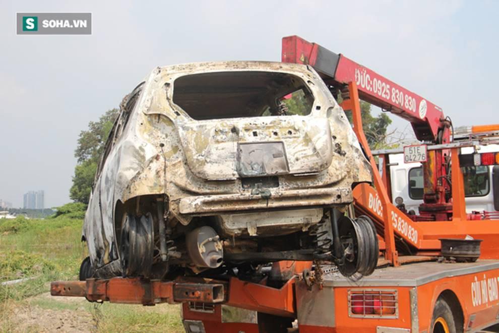 Tạm giữ người đàn ông Hàn Quốc, tình nghi giết người cướp tài sản, đốt ô tô phi tang ở Sài Gòn-1