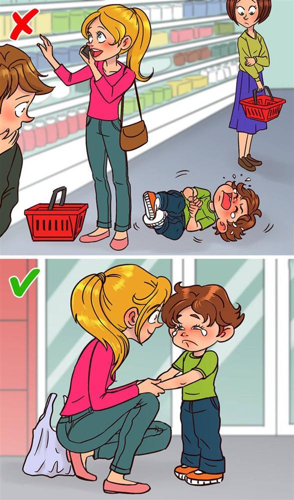 Không phải quát tháo hay đòn roi khi phạt con hư, bố mẹ hãy làm theo các chiến lược đơn giản mà hiệu quả sau đây-2