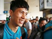 U23 Việt Nam được người hâm mộ chào đón khi trở về TP.HCM