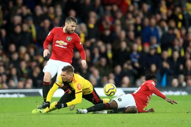 De Gea sắm vai tội đồ, Man Utd thua sốc trước đội bét bảng tại giải Ngoại hạng Anh-6