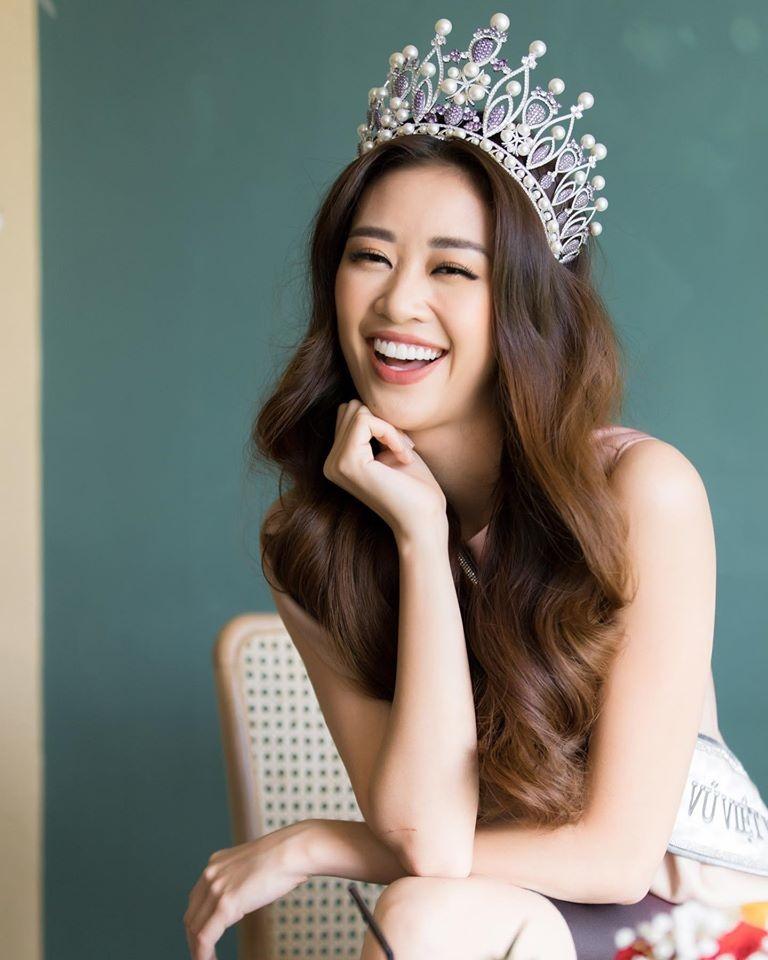 Hoa hậu Khánh Vân mặc quyến rũ, đẹp như nữ thần vẫn tự nhận đàn ông, nam tính-3