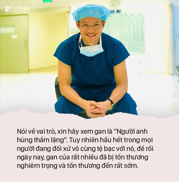 Câu chuyện ngày cận Tết: Sức chịu đựng của con người chỉ có giới hạn và 10 lời khuyên hạn chế nguy cơ tổn thương gan của bác sĩ BV Việt Đức-1