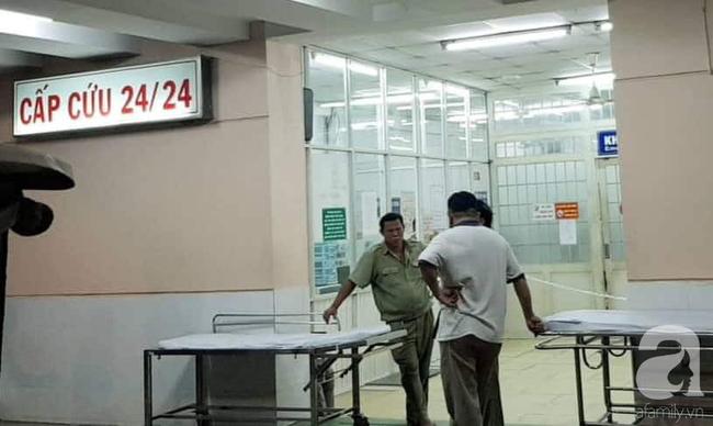 Một bệnh nhân nghi dùng súng tự bắn vào đầu tại khoa Cấp cứu Bệnh viện Trưng Vương-1