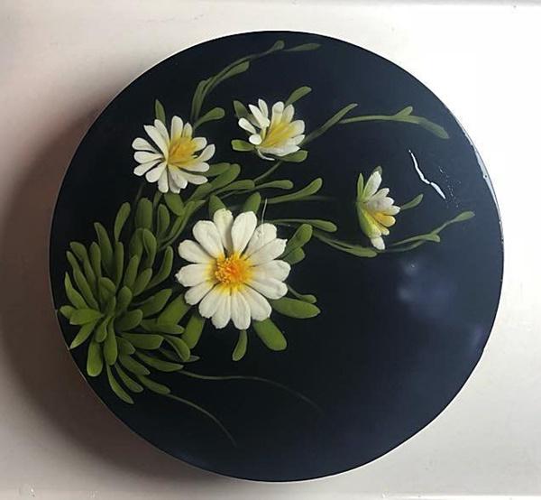 Chiếc bánh đẹp tựa như một bức tranh trong sinh nhật NSND Tự Long-11
