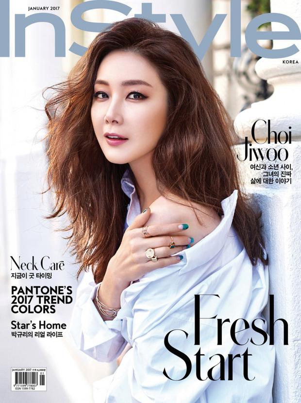 Mỹ nhânBản tình ca mùa đông Choi Ji Woo mang thai con đầu lòng sau gần 2 năm kết hôn-1