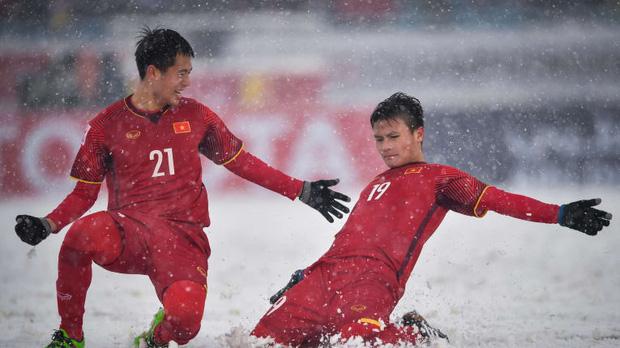 Tranh cãi kết quả bình chọn siêu phẩm cầu vồng trong tuyết của Quang Hải thắng giải Bàn thắng biểu tượng cho VCK U23 châu Á-2
