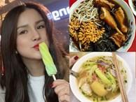 Diệp Lâm Anh 'ăn không kịp thở' ở Hà Nội