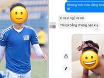 Xôn xao chuyện 1 cầu thủ bị lộ ảnh nhạy cảm, được cho chính là hot boy sân cỏ mới nổi của U23 Việt Nam