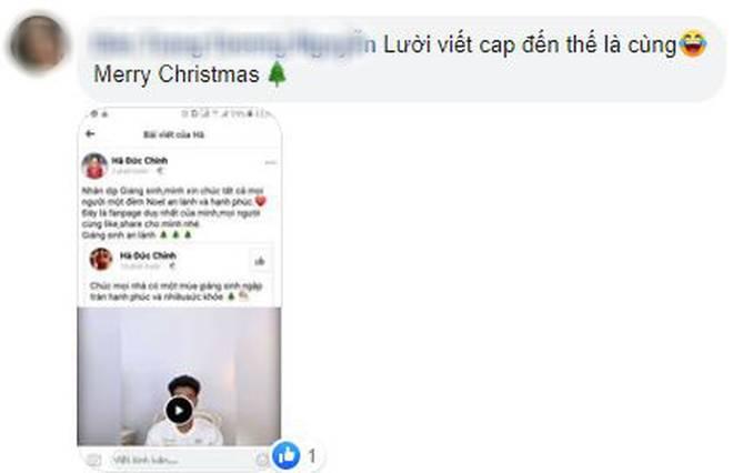 Quang Hải, Đức Chinh cùng gửi lời chúc Giáng sinh, fan lại soi ra hai chàng viết giống nhau đến từng dấu phẩy-4