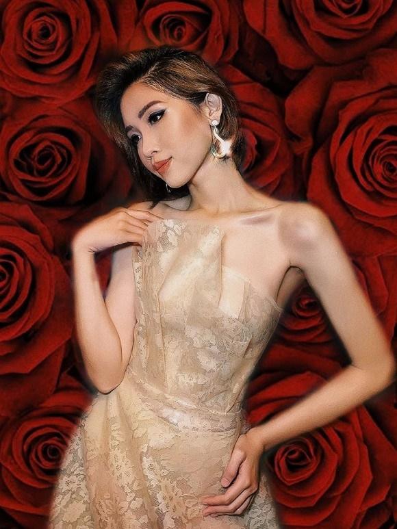 Loạt ảnh diện bikini khoe dáng của người đẹp chuyển giới kế nhiệm Hoa hậu Hương Giang-9