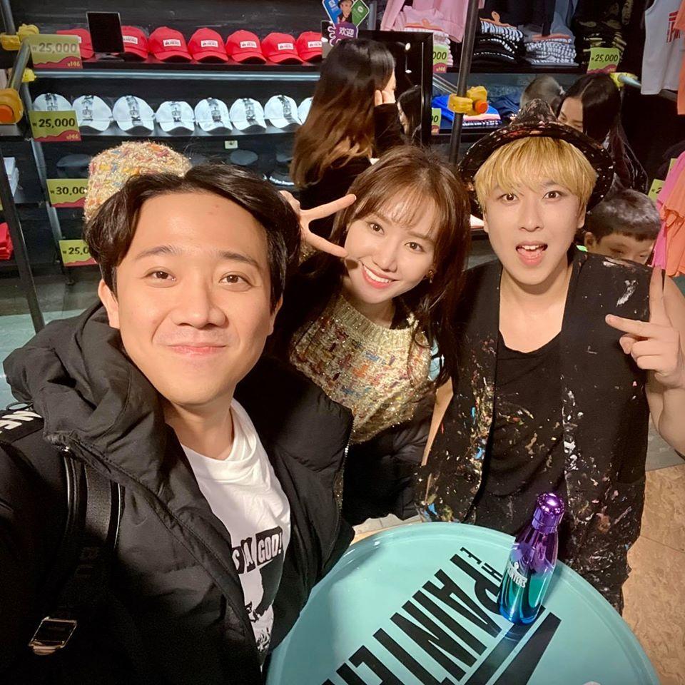 Du hí Hàn Quốc cùng Hari Won, Trấn Thành bị soi kiểu tóc nhìn không thể mê nổi-2