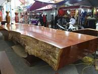 Chiêm ngưỡng những chiếc phản làm bằng gỗ cẩm giá hơn 2 tỷ