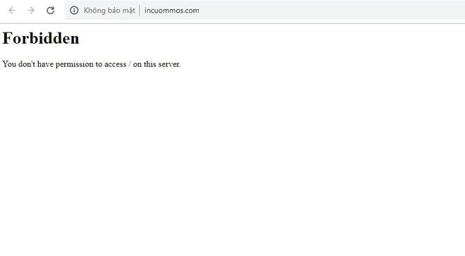 Website công ty quản lý Jack và K-ICM bị sập-1