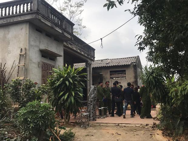 Khám nghiệm hiện trường vụ thảm án khiến 6 người thương vong ở Thái Nguyên-5