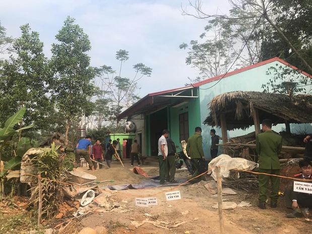 Khám nghiệm hiện trường vụ thảm án khiến 6 người thương vong ở Thái Nguyên-10