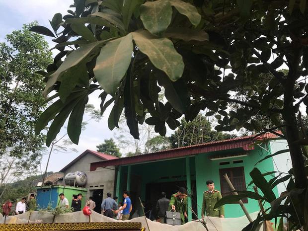 Khám nghiệm hiện trường vụ thảm án khiến 6 người thương vong ở Thái Nguyên-11