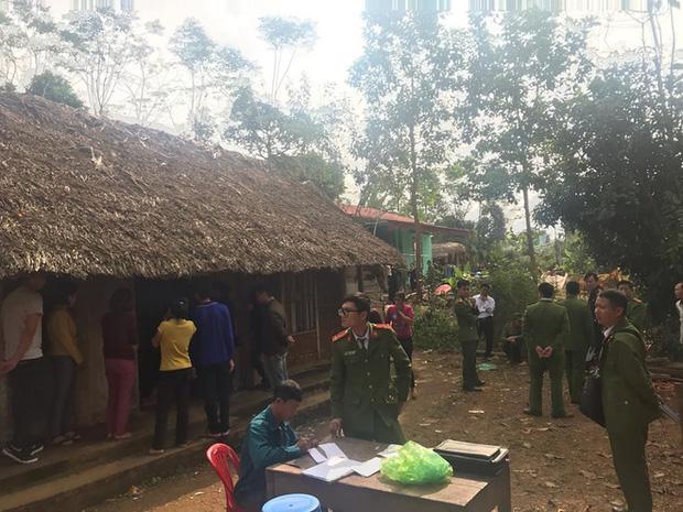 Khám nghiệm hiện trường vụ thảm án khiến 6 người thương vong ở Thái Nguyên-13