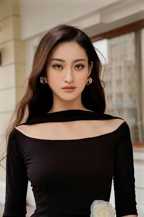 Hoa hậu Lương Thùy Linh hóa quý cô điệu đà trong loạt ảnh thời trang-2