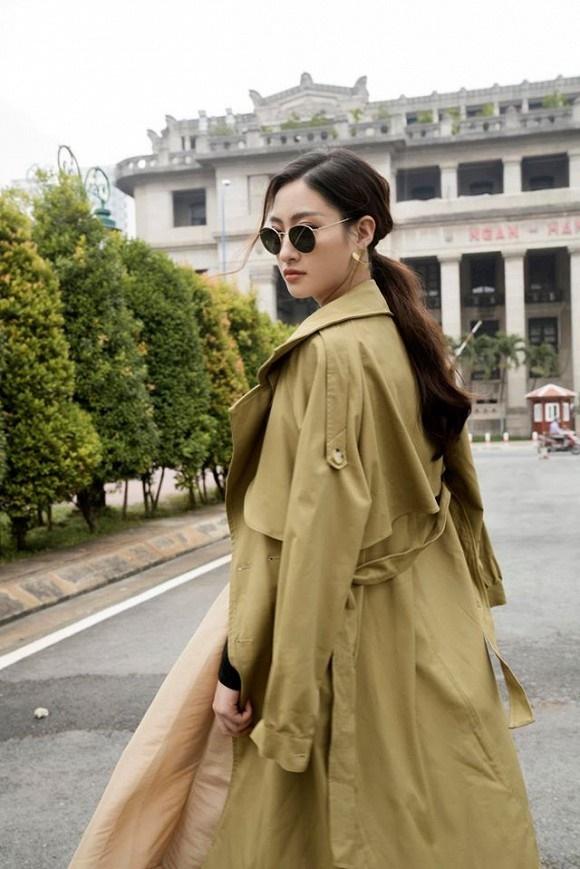 Hoa hậu Lương Thùy Linh hóa quý cô điệu đà trong loạt ảnh thời trang-3