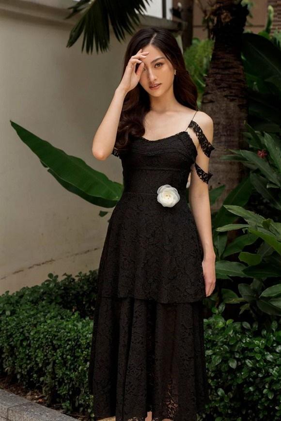 Hoa hậu Lương Thùy Linh hóa quý cô điệu đà trong loạt ảnh thời trang-5