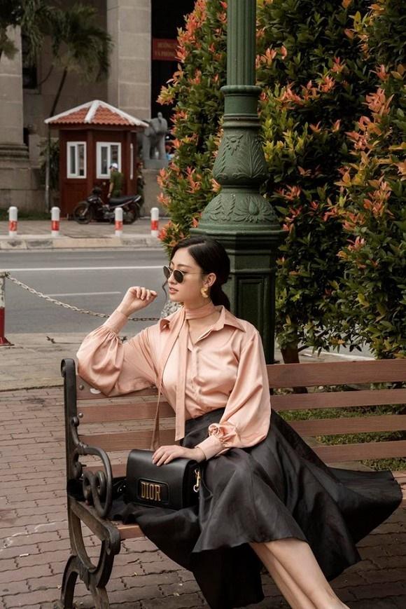 Hoa hậu Lương Thùy Linh hóa quý cô điệu đà trong loạt ảnh thời trang-6