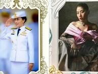 2 nàng công chúa Thái Lan chia sẻ thiệp mừng năm mới 2020 khác nhau một trời một vực: Người đơn giản khí chất, người sang chảnh cầu kỳ