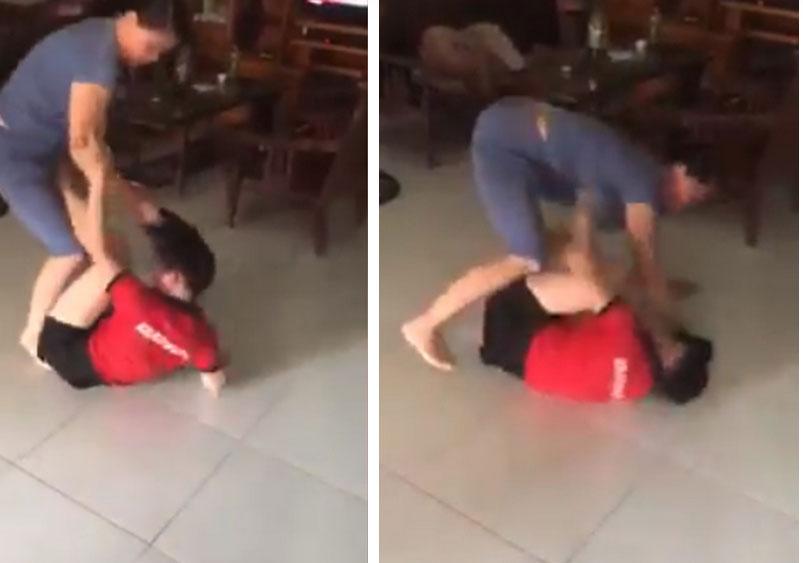 Nóng trên mạng xã hội: Mẹ chồng - con dâu túm tóc, giằng co, đánh nhau ngay giữa nhà-2