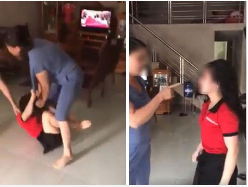 Nóng trên mạng xã hội: Mẹ chồng - con dâu túm tóc, giằng co, đánh nhau ngay giữa nhà-4