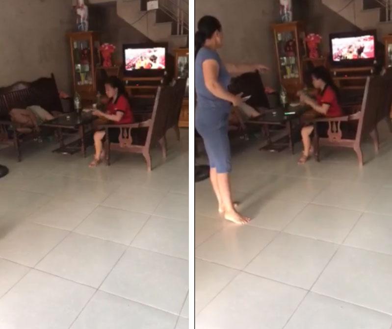 Nóng trên mạng xã hội: Mẹ chồng - con dâu túm tóc, giằng co, đánh nhau ngay giữa nhà-6