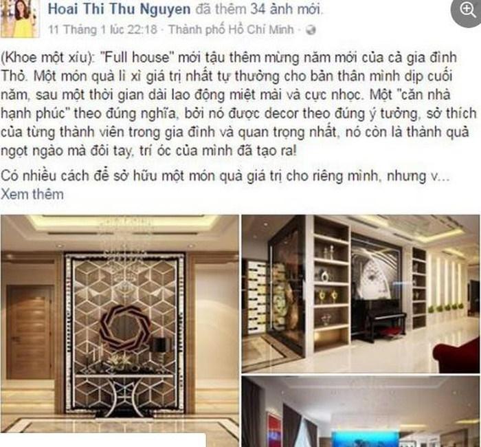 Biệt thự toàn đồ hiệu tiền tỷ của Hoa hậu Thu Hoài vừa được trai trẻ cầu hôn-3
