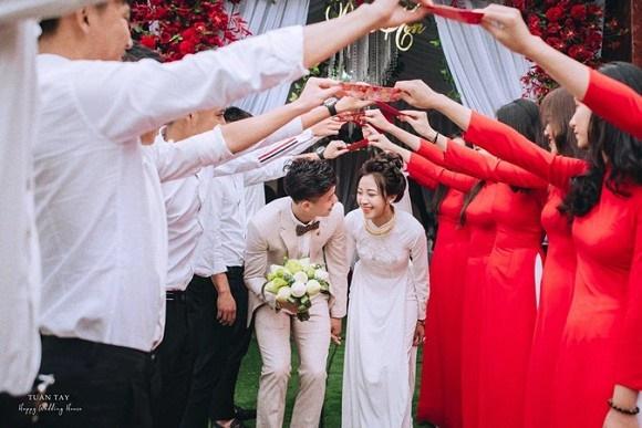 Trọn bộ ảnh đẹp lung linh trong lễ đính hôn của Phan Văn Đức và Võ Nhật Linh-1