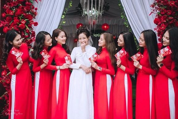 Trọn bộ ảnh đẹp lung linh trong lễ đính hôn của Phan Văn Đức và Võ Nhật Linh-4