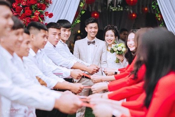 Trọn bộ ảnh đẹp lung linh trong lễ đính hôn của Phan Văn Đức và Võ Nhật Linh-8