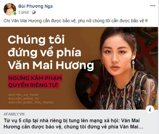 Hàng loạt sao Việt đã có động thái này trước việc ca sĩ Văn Mai Hương bị tung clip riêng tư-2