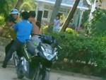Hà Nội: Chỉ vì chiếc vé xe máy, bảo vệ chung cư hành hung khách gửi xe, dọa đánh chết-3