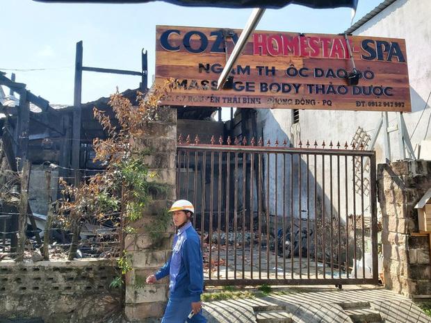 Hiện trường tan hoang vụ cháy homestay ở Phú Quốc khiến 7 người thương vong-1