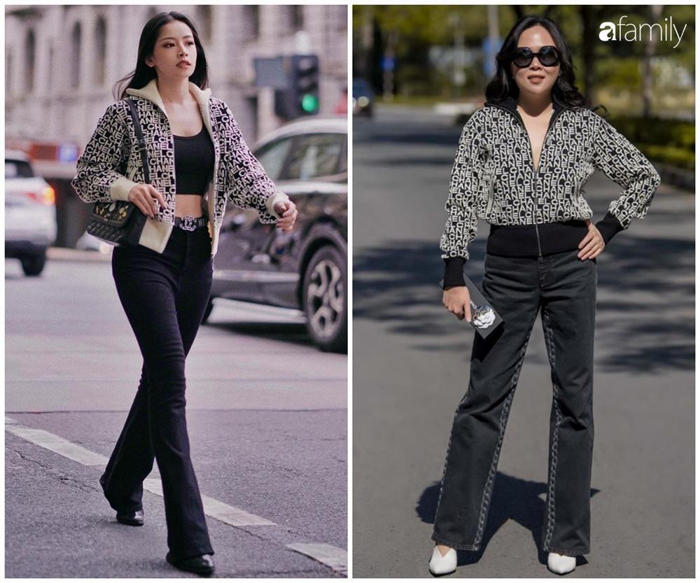 Phượng Chanel đụng hàng Chi Pu: Cùng 1 lối lên đồ mà đẳng cấp khác một trời một vực-1