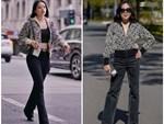 """Chiếc áo nơ hot nhất lúc này đã khiến Phượng Chanel bất chấp dù đụng"""" từ Jennie, Liu Wen tới Châu Bùi-9"""