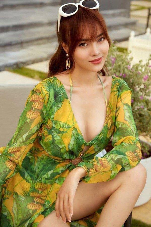 Ninh Dương Lan Ngọc thay đổi phong cách, ăn mặc ngày càng gợi cảm-2