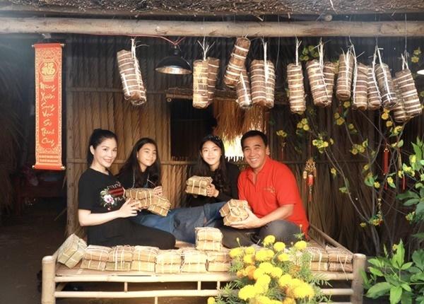 Vợ chồng Quyền Linh thăm cơ ngơi rộng 1.600 m2 của em trai Quyền Lộc-5