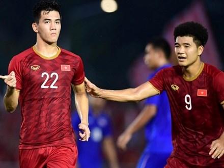 Đức Chinh, Tiến Linh - súng hai nòng của U23 Việt Nam ở châu Á
