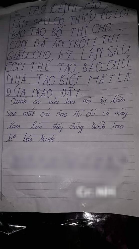 Quá bực vì liên tục mất đồ lót, cô gái treo lên móc bức tâm thư gửi cho tên trộm khiến ai đọc xong cũng không thể nhịn cười-2