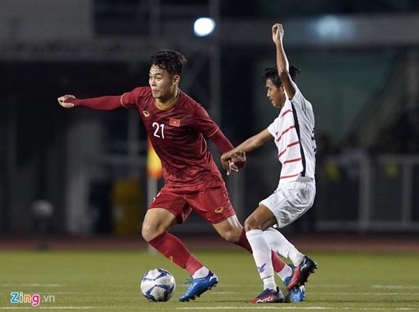 Ai sẽ đảm nhận vị trí hậu vệ phải U23 Việt Nam thay Tấn Tài?-2