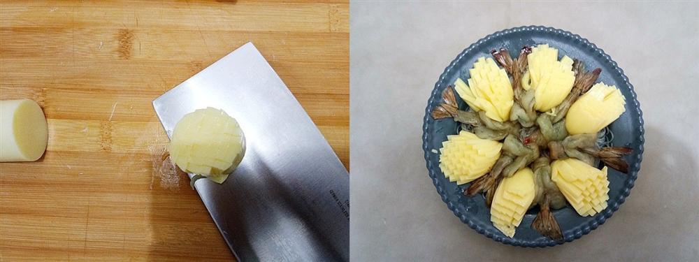 Tiệc đầu năm mà làm món tôm hấp kiểu này đảm bảo cả nhà ngạc nhiên với tài nấu nướng của bạn-3